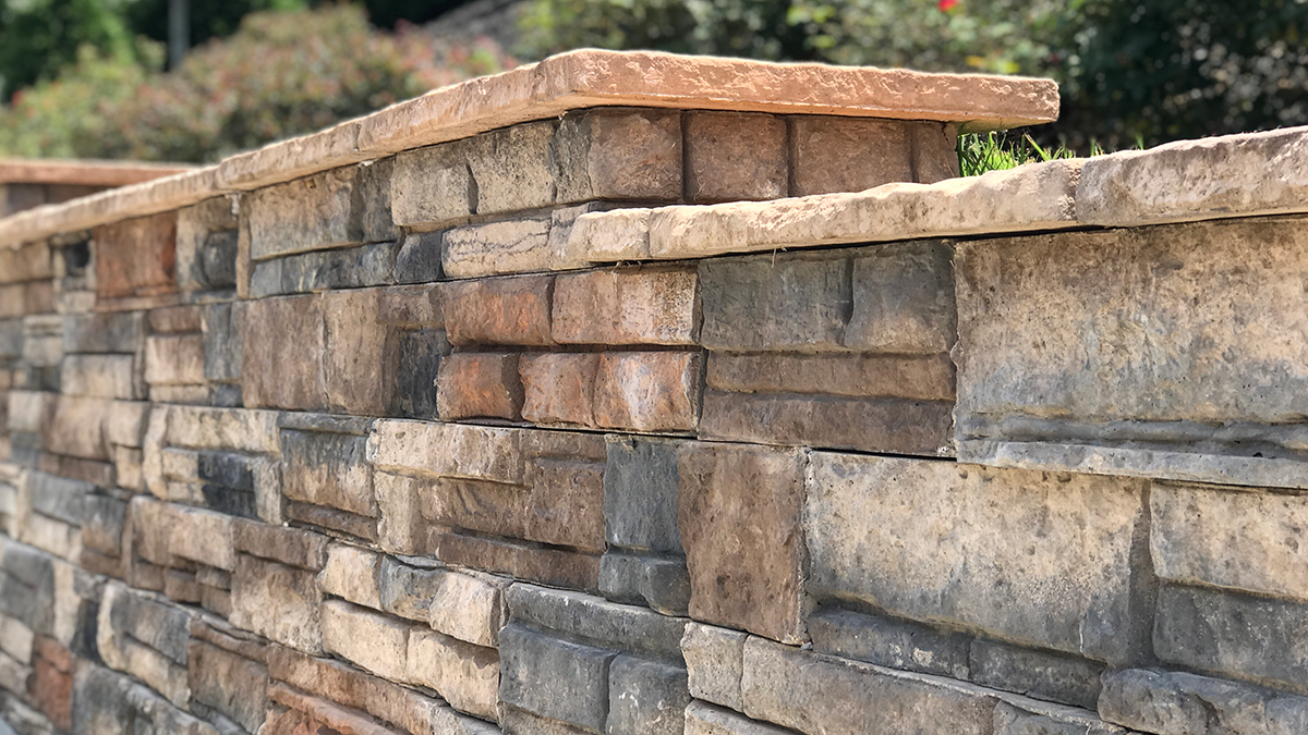 Heritage Block - The Most Attractive Retaining Wall Block in the World