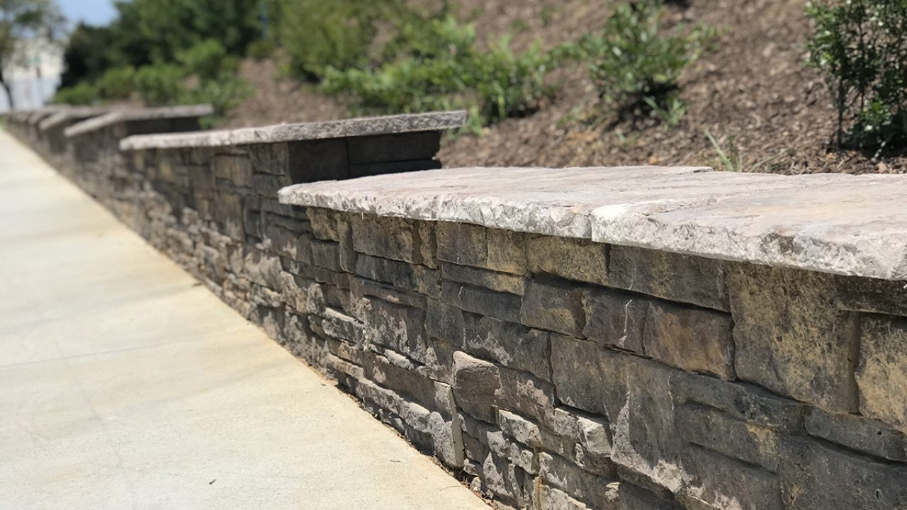 Retaining Wall Step Ups Building Steps Up A Slope Heritage